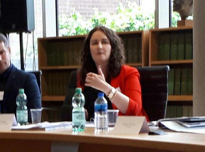 @eimearspain @ULSchoolofLaw talks about grooming children and how we view victims #GreentownProgDesi <br>http://pic.twitter.com/7DkX3RdK5o