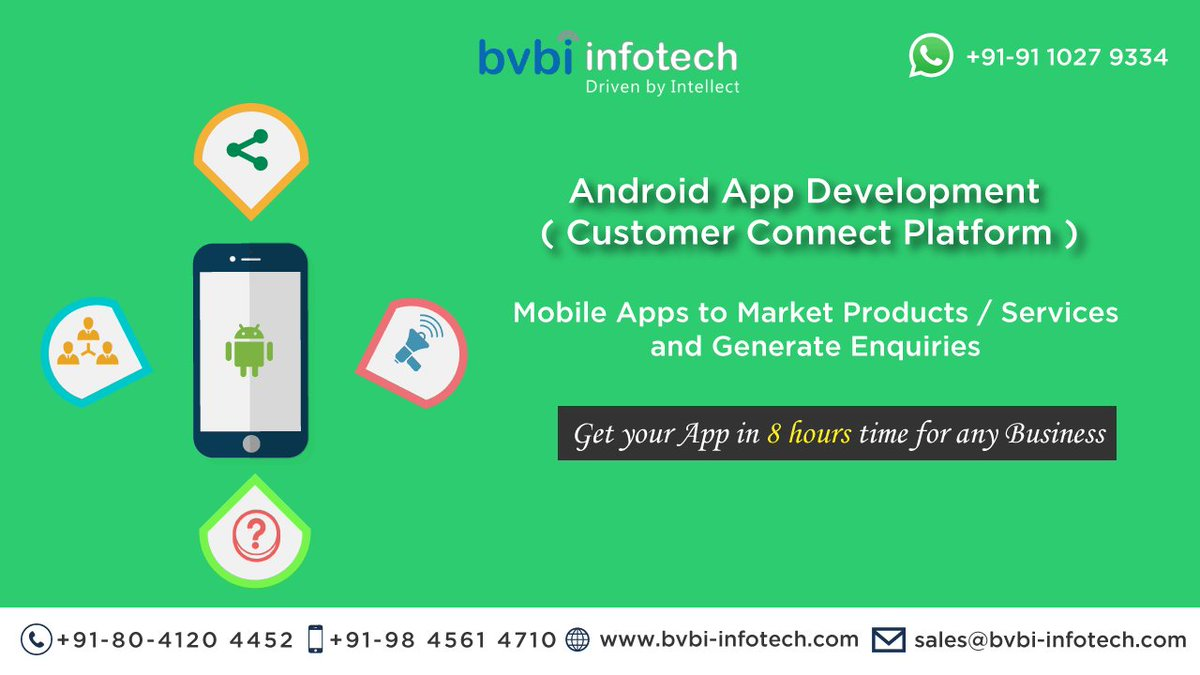 #android #app #development to #market #products / #generate #enquiry@#get your #apps  #8hours.. visit:  http:// bit.ly/2mkWPm4  &nbsp;  <br>http://pic.twitter.com/vYOvmBd7hN