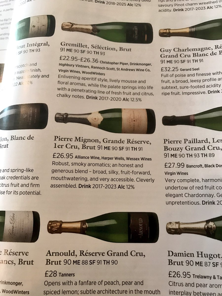 Delighted to see one of our #handpicked #grower #champagnes in @Decanter #bubbles #fizz<br>http://pic.twitter.com/OUVP95cWKD