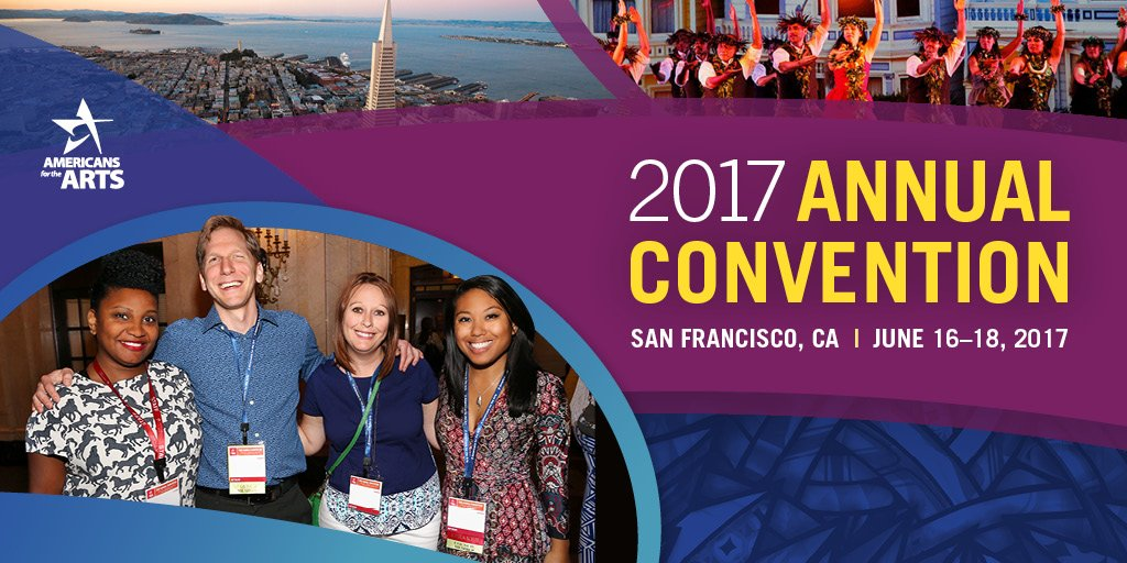 Welcome to San Francisco, Conventioneers! It's precon day—we're talking public art & racial equity all day. Follow along at #AFTACON. https://t.co/tMn8cOGsTx