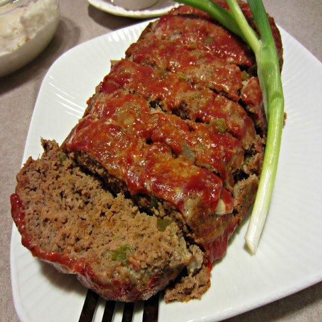 Easy Home Style Meatloaf