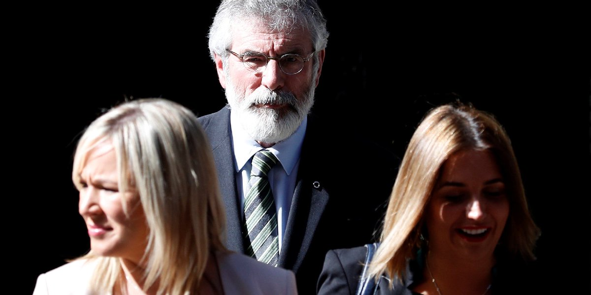 Gerry Adams says he told Theresa May that a deal with the DUP would be in breach of the Good Friday agreement https://t.co/gubAlDm6VV