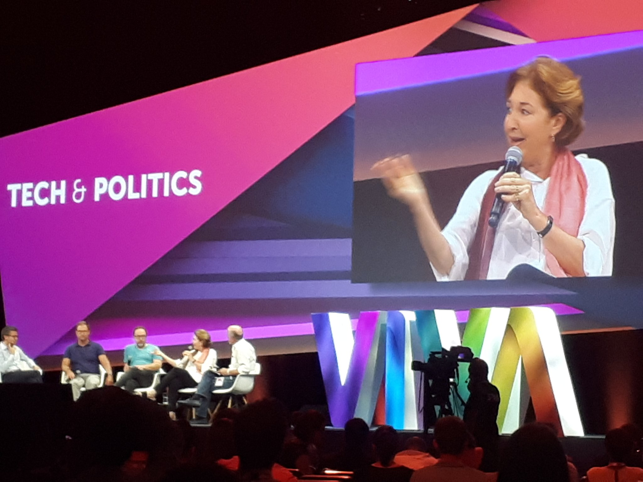 """The biggest divide in the #civictech world is the struggle between open and close."" cc @SlaughterAM #VivaTech #VivaTech2017 https://t.co/RFDMHkoUjg"