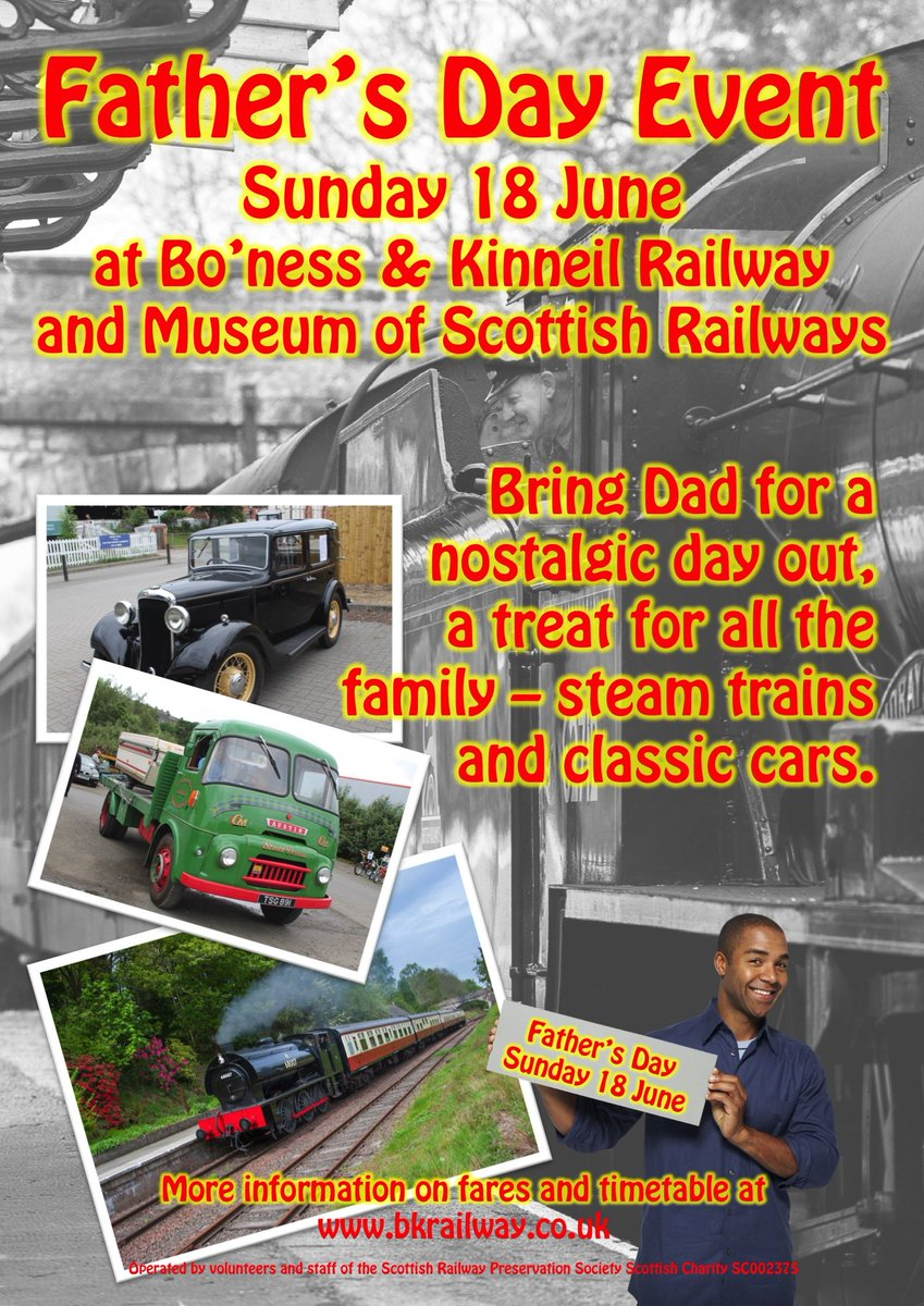 test Twitter Media - RT @bonessrailway: Join us for #FathersDay with #steamtrains & #classiccars 🚂🚗🚂  https://t.co/gztzm94RcV ^JS https://t.co/NB9nyGifen