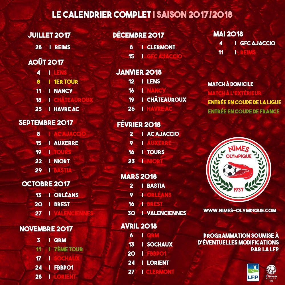 Les calendriers de la Ligue 1 et de la Ligue 2 dévoilés