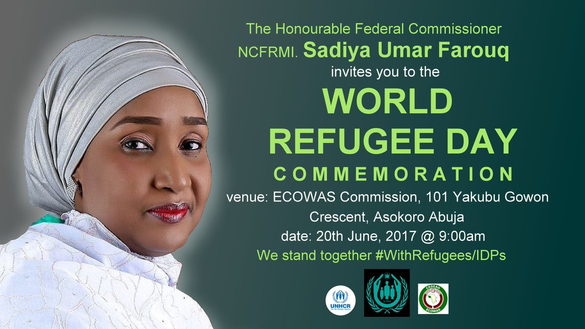 "Refugee Quotes Sadiya Umar Farouq On Twitter ""kindly Accept My Invitation To The"