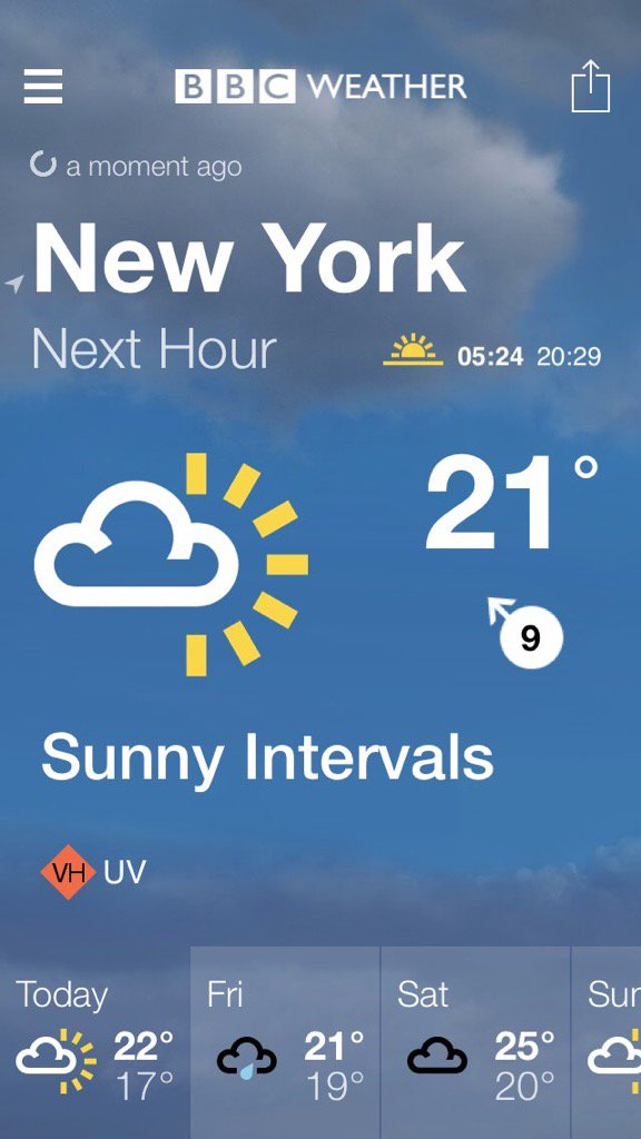 Anthony Baxter On Twitter BBC Weather Forecast For New York - Nyc bbc weather