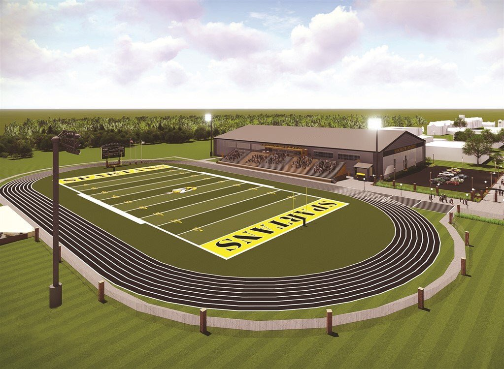 Indy up tonight Athletic Alumni come join us to hear from @ChetBaseball16 about the exciting new #StadiumProject &amp; the #impact it will have<br>http://pic.twitter.com/qaTYCKznN0