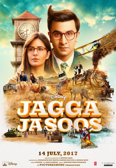 Here's the new poster of #JaggaJasoos! https://t.co/dG8CZTeXBZ