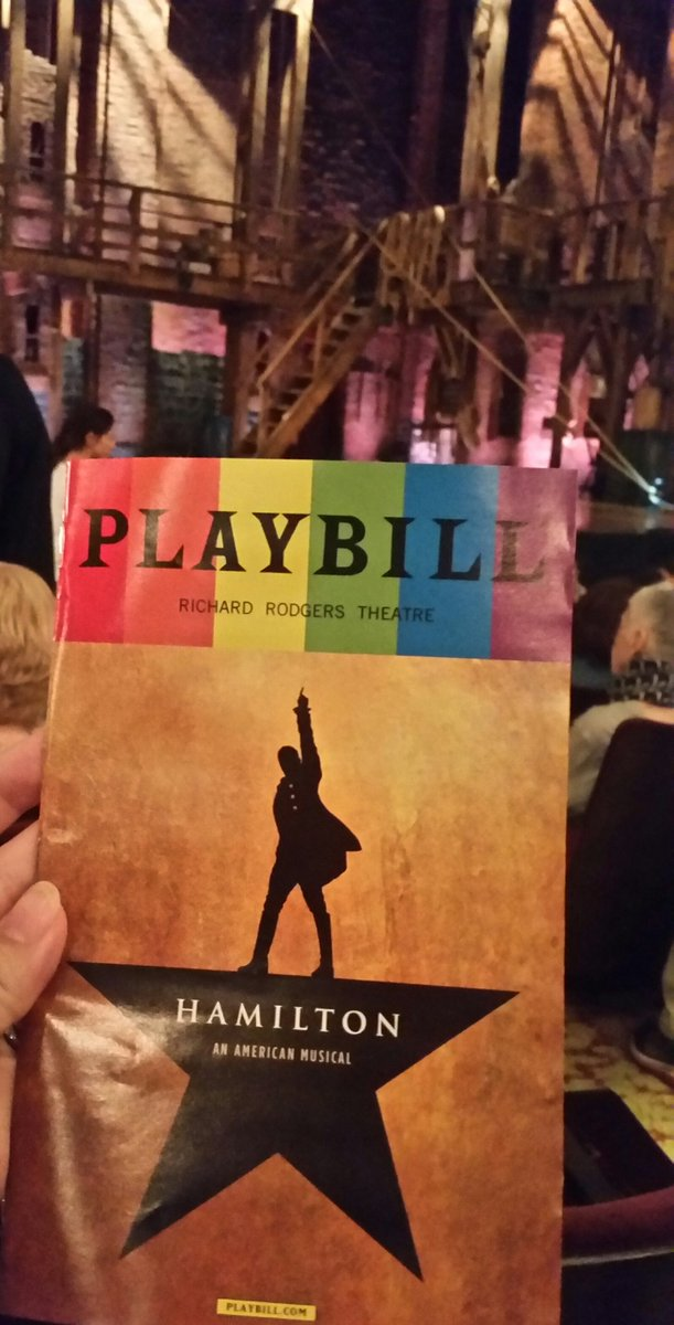 &quot;Tomorrow There&#39;ll Be More of Us!&quot; Inspiring time w/#MarchForTruth&#39;s @JordanUhl @JMunozActor at @HamiltonMusical! Thank you so much, Javier!<br>http://pic.twitter.com/i1mbA8UCH9