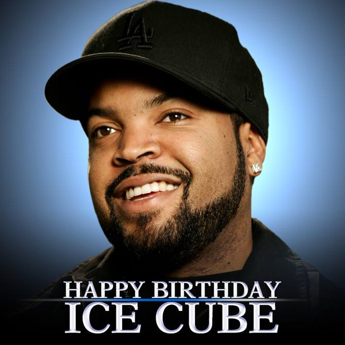 He\s cool as ice. Happy 48th Birthday to rapper, record producer, actor, and filmmaker Ice Cube!