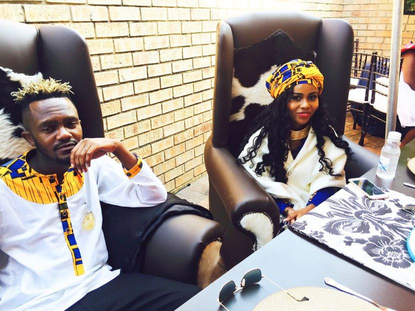 Image result for kwesta white wedding pictures