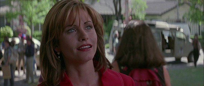 New happy birthday shot What movie is it? 5 min to answer! (5 points) [Courteney Cox, 53]