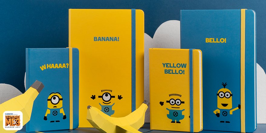 Thumbnail for Minions Limited Edition Notebooks