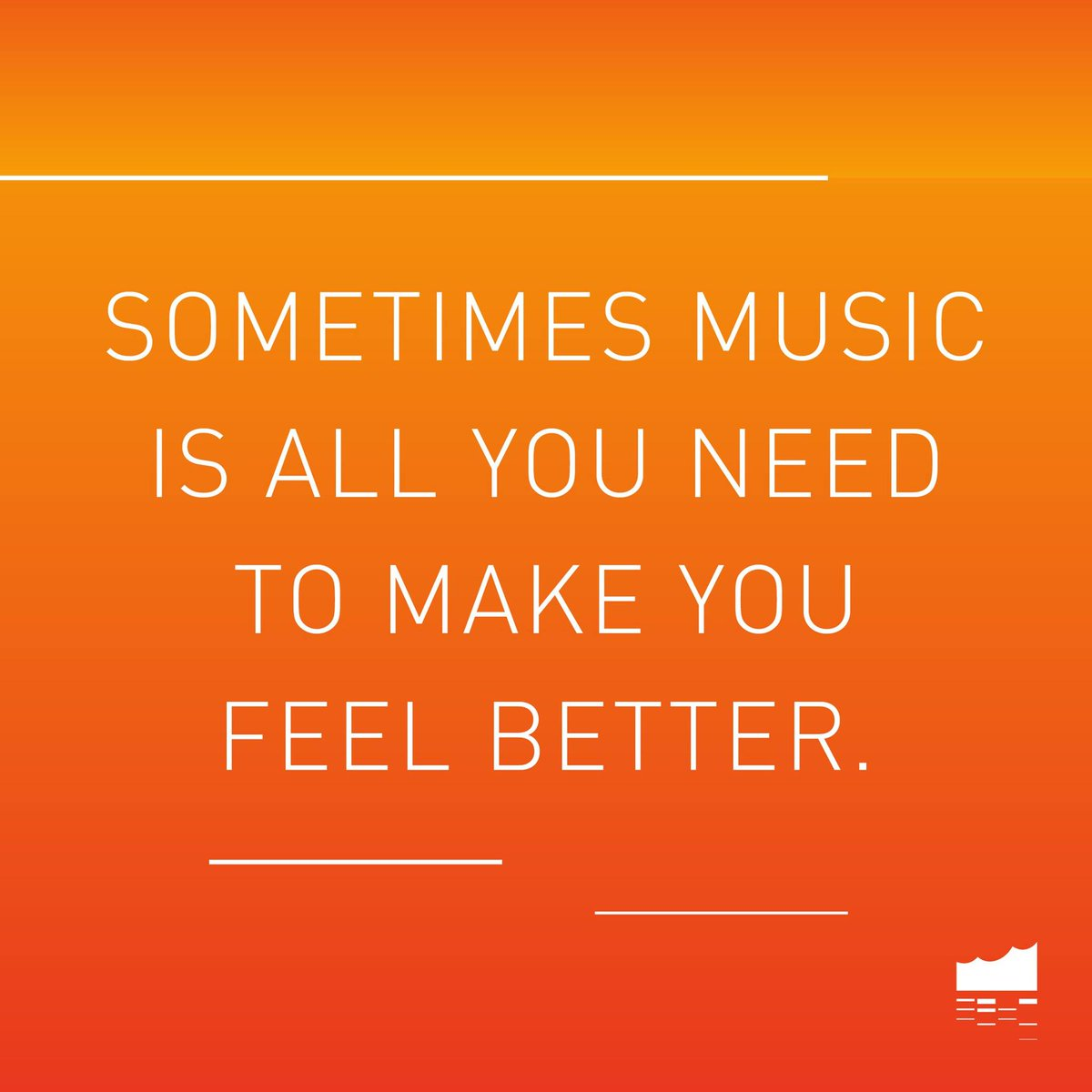 Music is the best solution. Always! 💛 https://t.co/BhpZHVoBLx