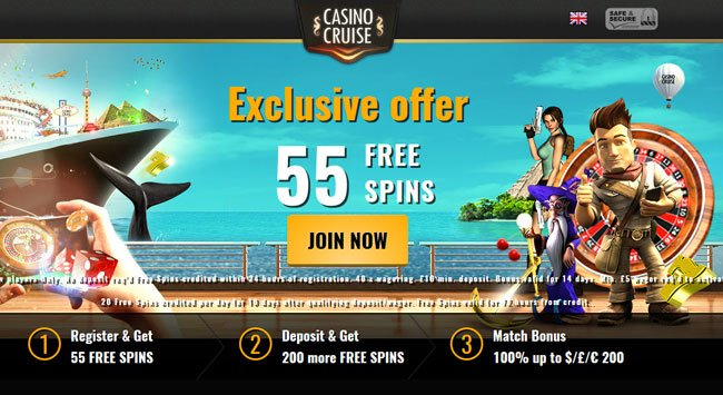 Cruise Casino no deposit bonus