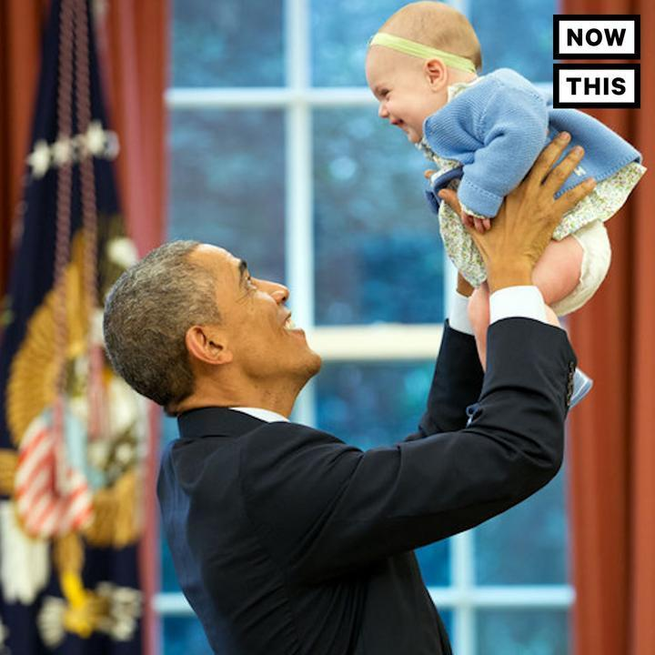 Watching Barack Obama play with babies is the perfect way to spend #Fa...