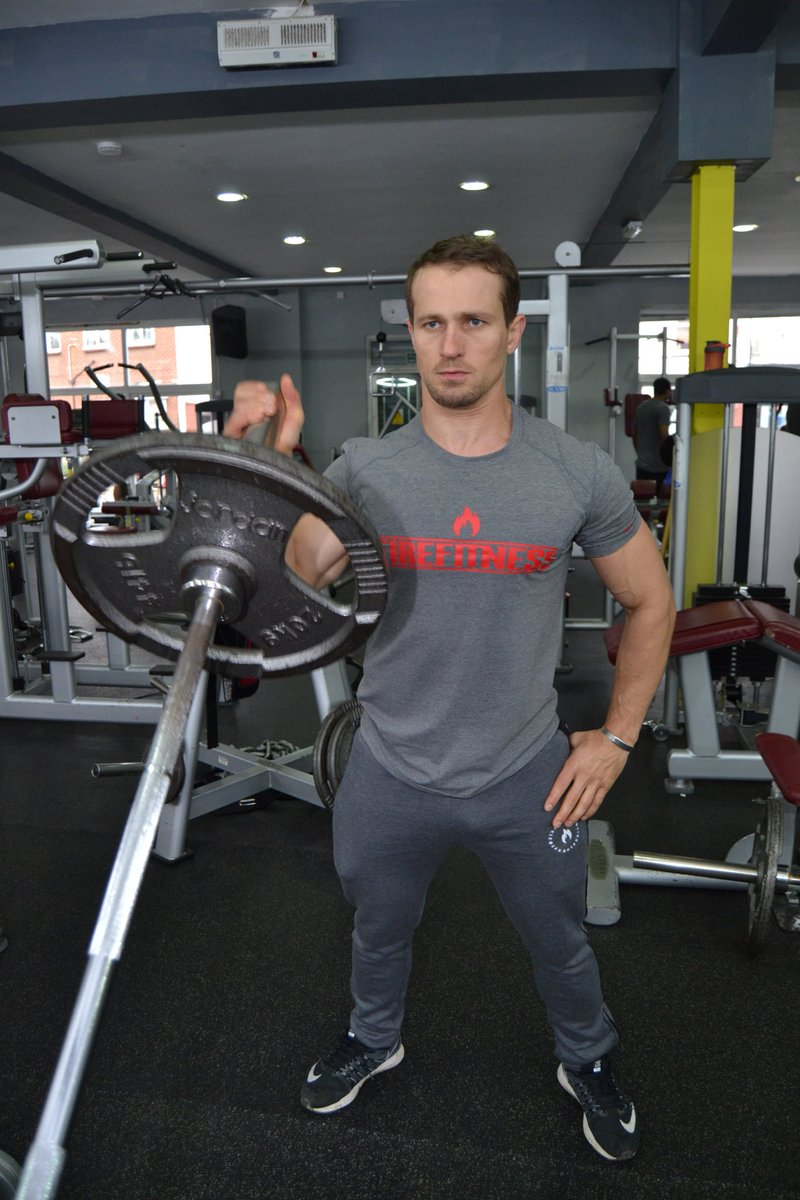 Me, Myself &amp; Iron; that&#39;s what I believe. Grey-fitted TShirt with comfortable material best for your gym use.#fitfam #sportswear #gym<br>http://pic.twitter.com/RUsvrnEZ5d
