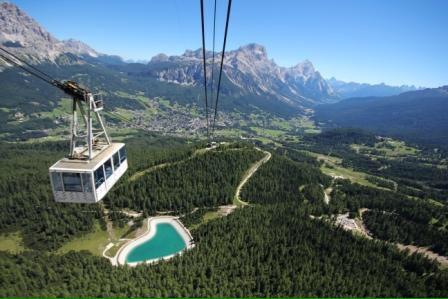 Riapre la funivia TOFANA a Cortina d'Ampezzo (la regina delle Dolomiti)