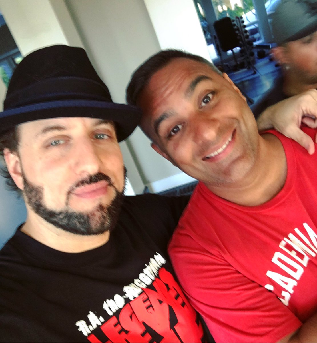 R A The Rugged Man On Twitter Chilling With Great Comedian Therealrusp He Knows Everything About Hiphop And Boxing