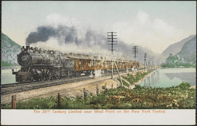 #otd in 1902, the 20th Century Limited, an express passenger train between New York and Chicago, began service. https://t.co/GEPPViR2eW