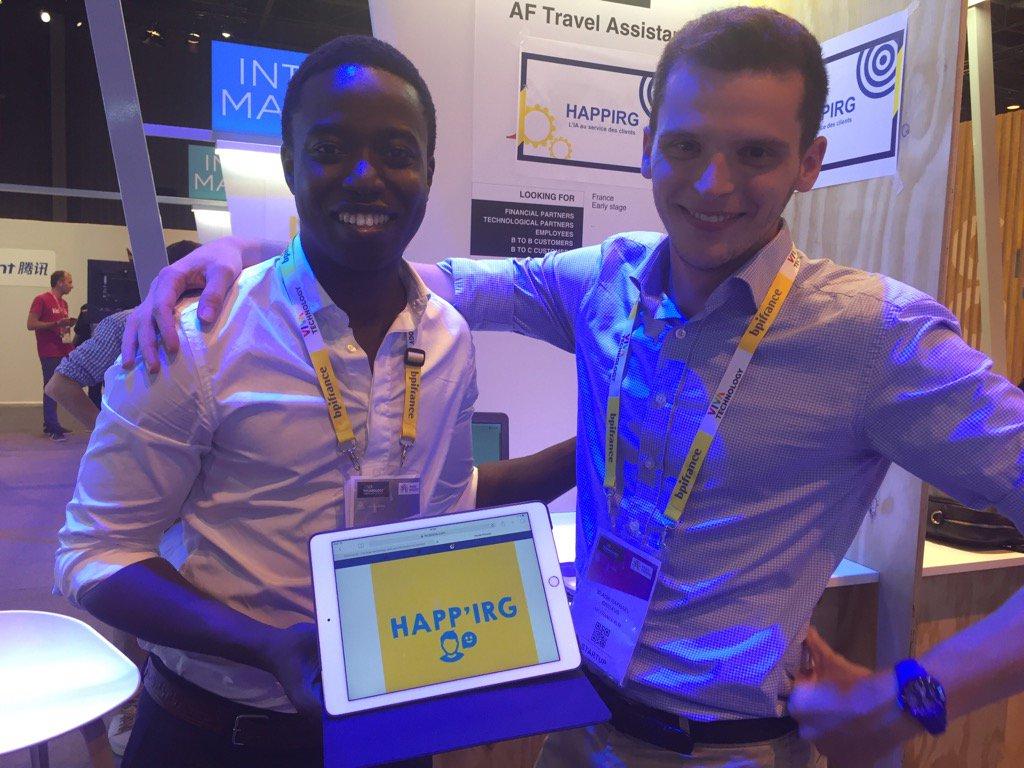 Bravo Happirg #VivaTech #AirFrance #intrapreneuriat @Mame_Mor<br>http://pic.twitter.com/Xs5r5wSdGO