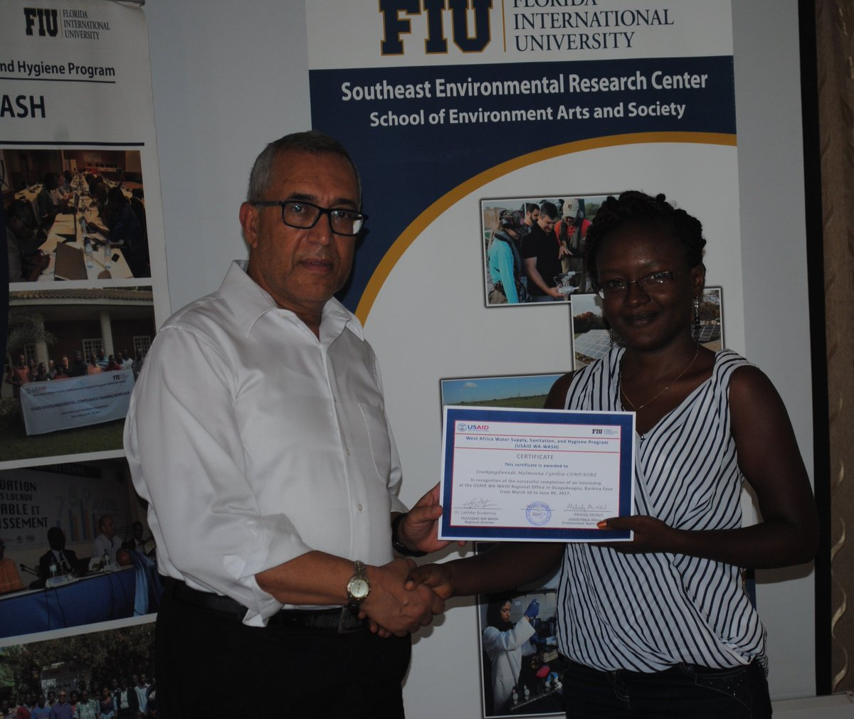Fiu institute of water and environment on twitter lakboukerrou fiu institute of water and environment on twitter lakboukerrou inwefiu start intern program in w africa w 270 interns incl 1betcityfo Gallery