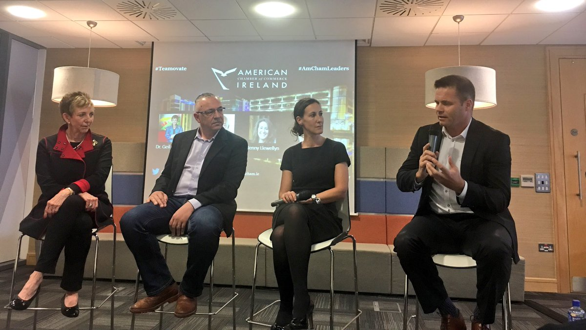 &quot;Culture is the real key to success&quot; - @DesmondF12 on how to achieve high performing teams at tonight&#39;s #AmChamLeaders #Teamovate event. <br>http://pic.twitter.com/rq87551az8