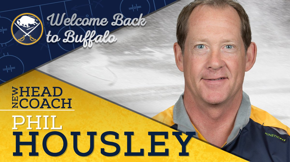 DONE DEAL: The Sabres have hired Hockey Hall of Famer and former Sabre Phil Housley as Head Coach. https://t.co/EK3ut2ZMOy