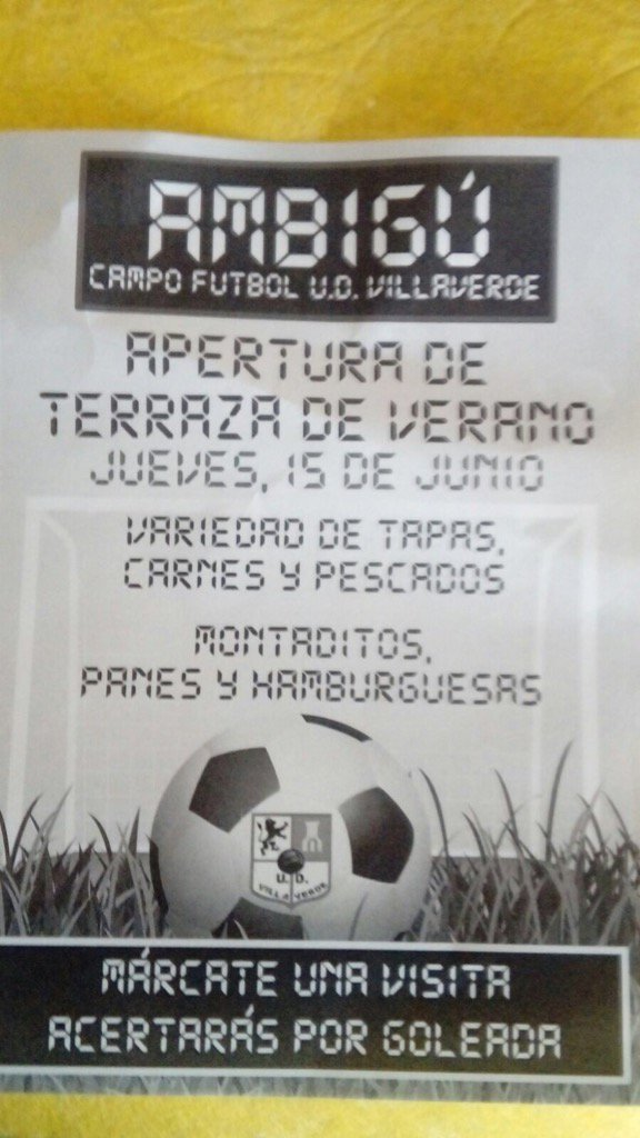U D Villaverde On Twitter Hoy Gran Apertura De Nuestra