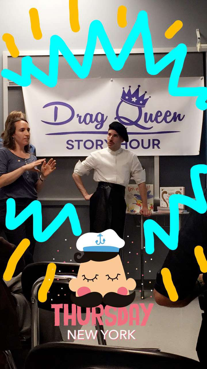 Spend Thursday with Drag Queen Story Hour? Yes, please! 💄👠 📚 ✨ #ReadingMatters https://t.co/TSTUolvtmR