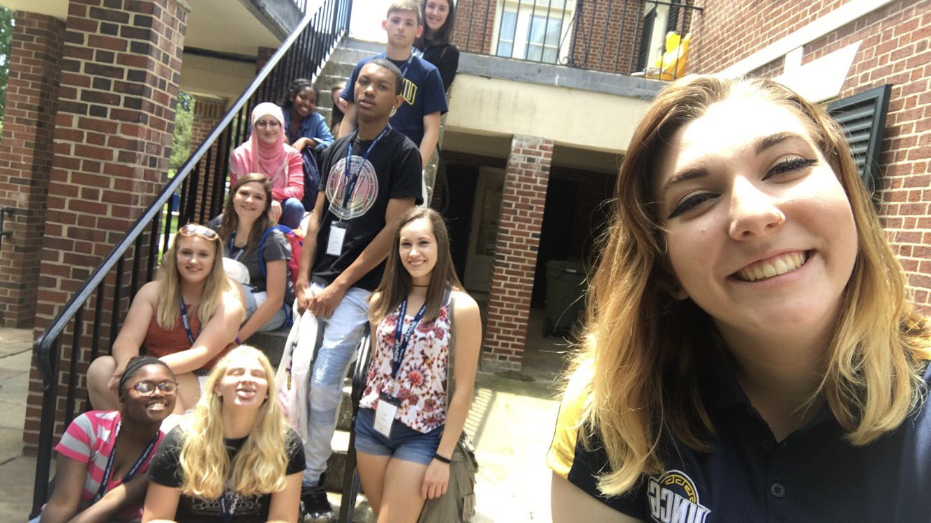 Session 4 with #MirandasMandMs and they are still as sweet as ever! #uncgsoar #uncg21 💙💛 https://t.co/EzmzhxOS6D