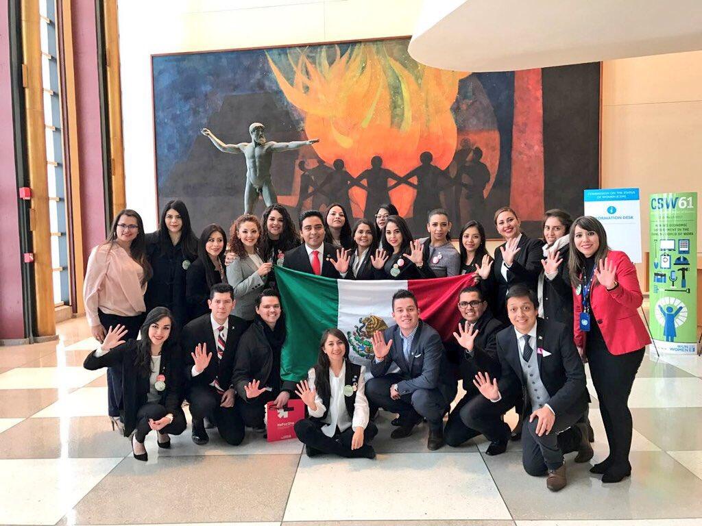 El trabajo conjunto de Jóvenes Voluntarios en MEX y @CONAGO2017 asegura el logro de la #Agenda2030 ¡Súmenos! https://t.co/I1HFPHbCKK