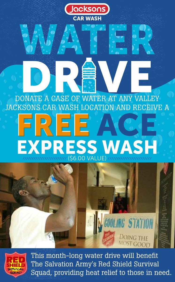 Jacksons Car Wash Jacksons Car Wash Customers Get A Free Car Wash