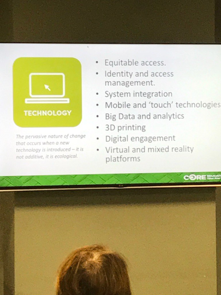 Change with technology is happening at a quick pace #corebreakfast https://t.co/gCKkOwUz1a