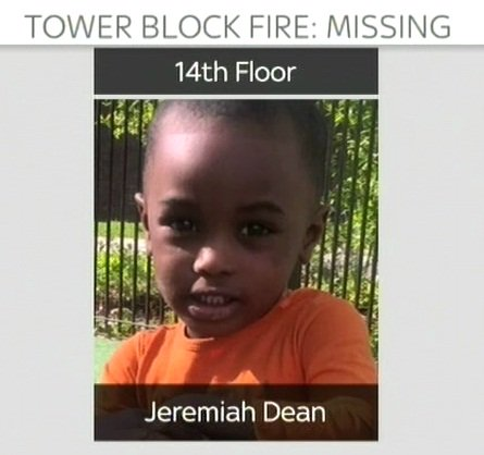 Thumbnail for Online appeals for help to find Grenfell Tower missing persons