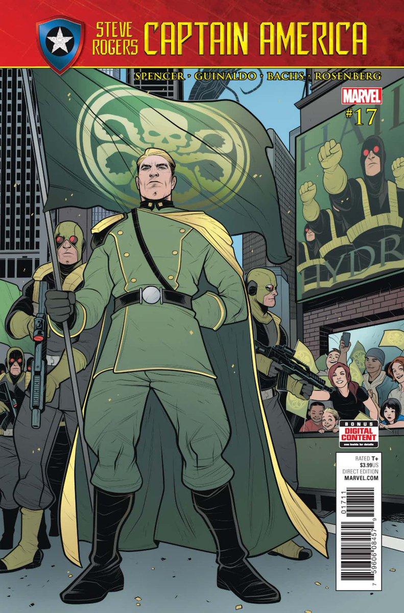 Steve Rogers - Captain America #17 ¡YA DISPONIBLE!    http:// azcomicses.blogspot.com/2016/05/steve- rogers-captain-america-vol1-4-de.html &nbsp; …   #AzComicsEs #Up #MarvelNow #SecretEmpire #Hydra<br>http://pic.twitter.com/VCi7ATLa0s