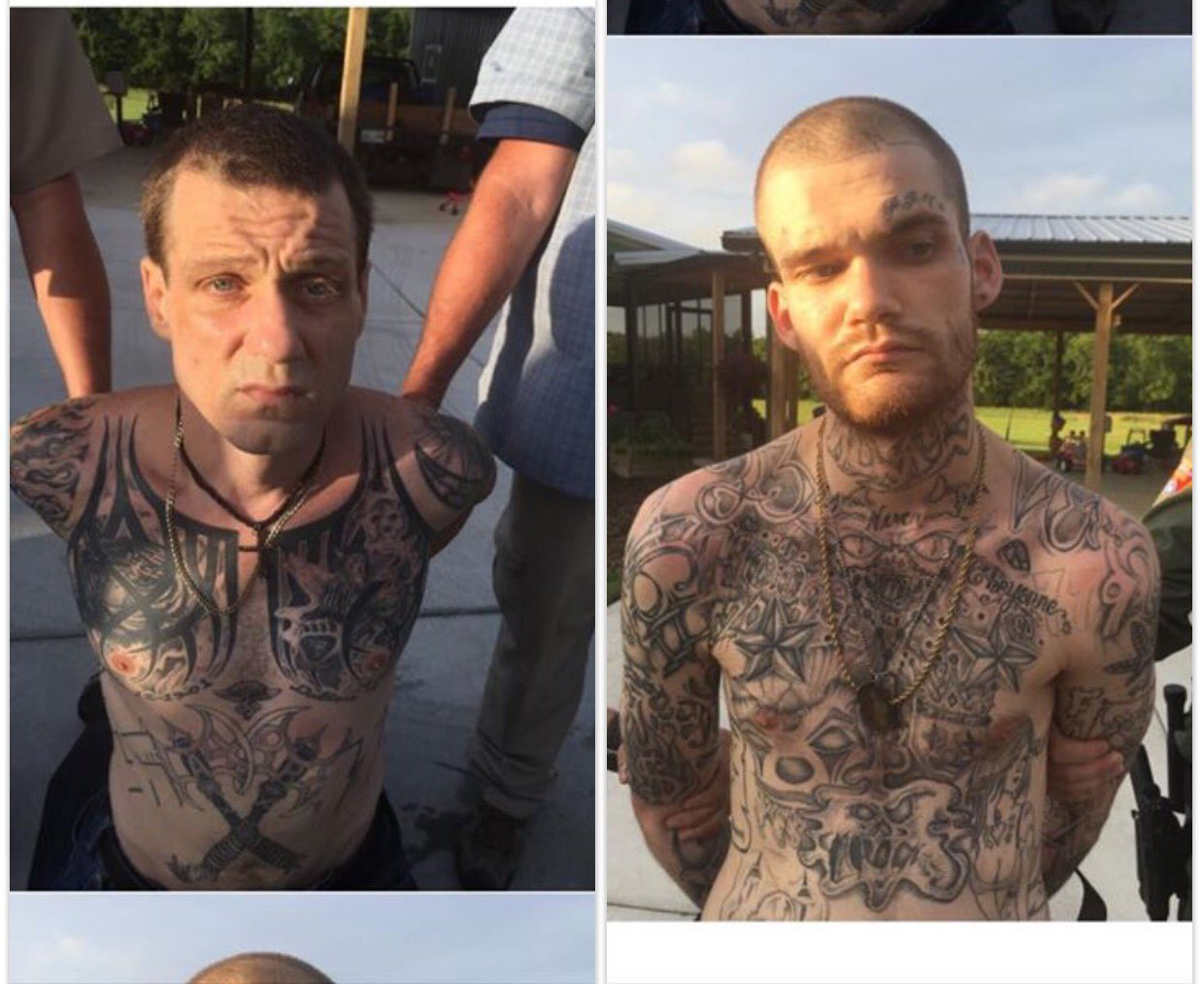 Thumbnail for Escaped Georgia inmates accused of killing officers captured in Tennessee
