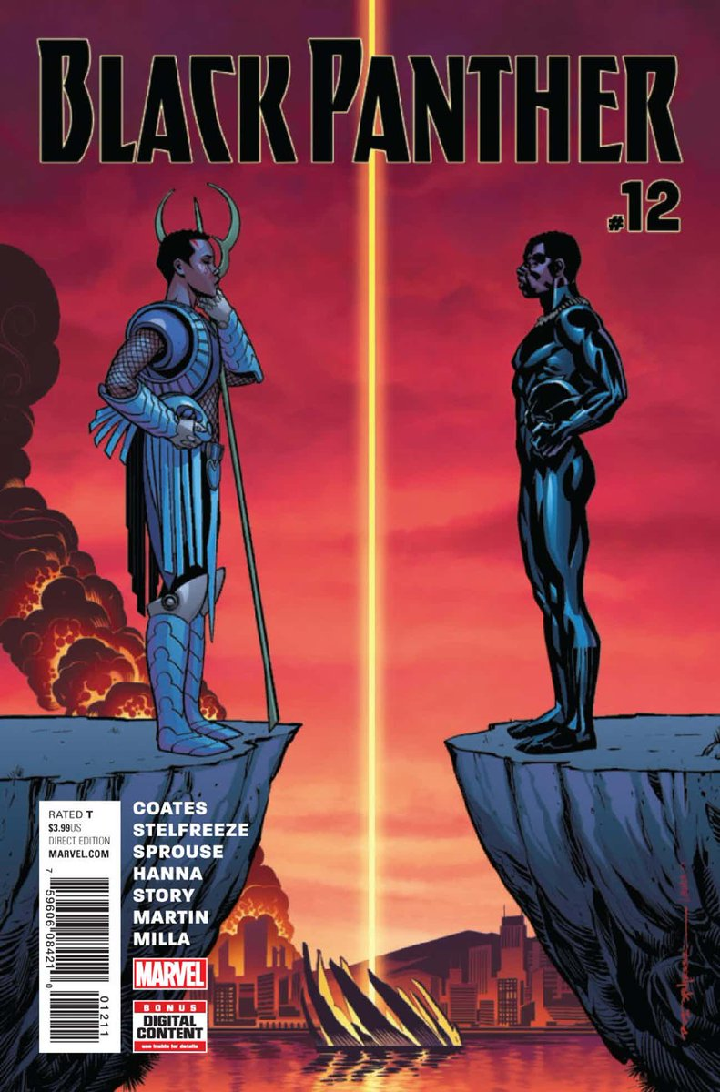 BLACK PANTHER #12 ¡Ya disponible!    http:// azcomicses.blogspot.com/2016/08/black- panther-vol6.html &nbsp; …   #AzComicsEs #Up #BlackPanther #MarvelNow<br>http://pic.twitter.com/vBw0RjqcY6