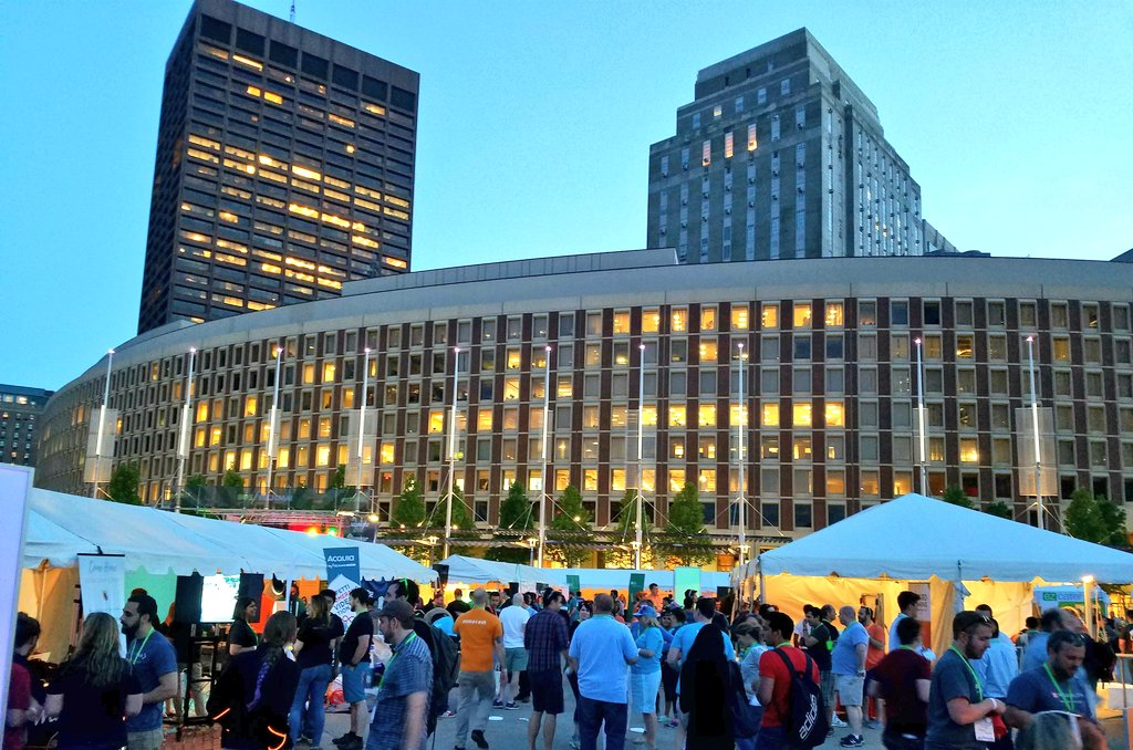 Another awesome @BostonTechJam! Congrats to the @MassTLC + #BTJ2017 team + the #Boston #tech community for showing up & being amazing. 💕 https://t.co/iEm5AVnHAE