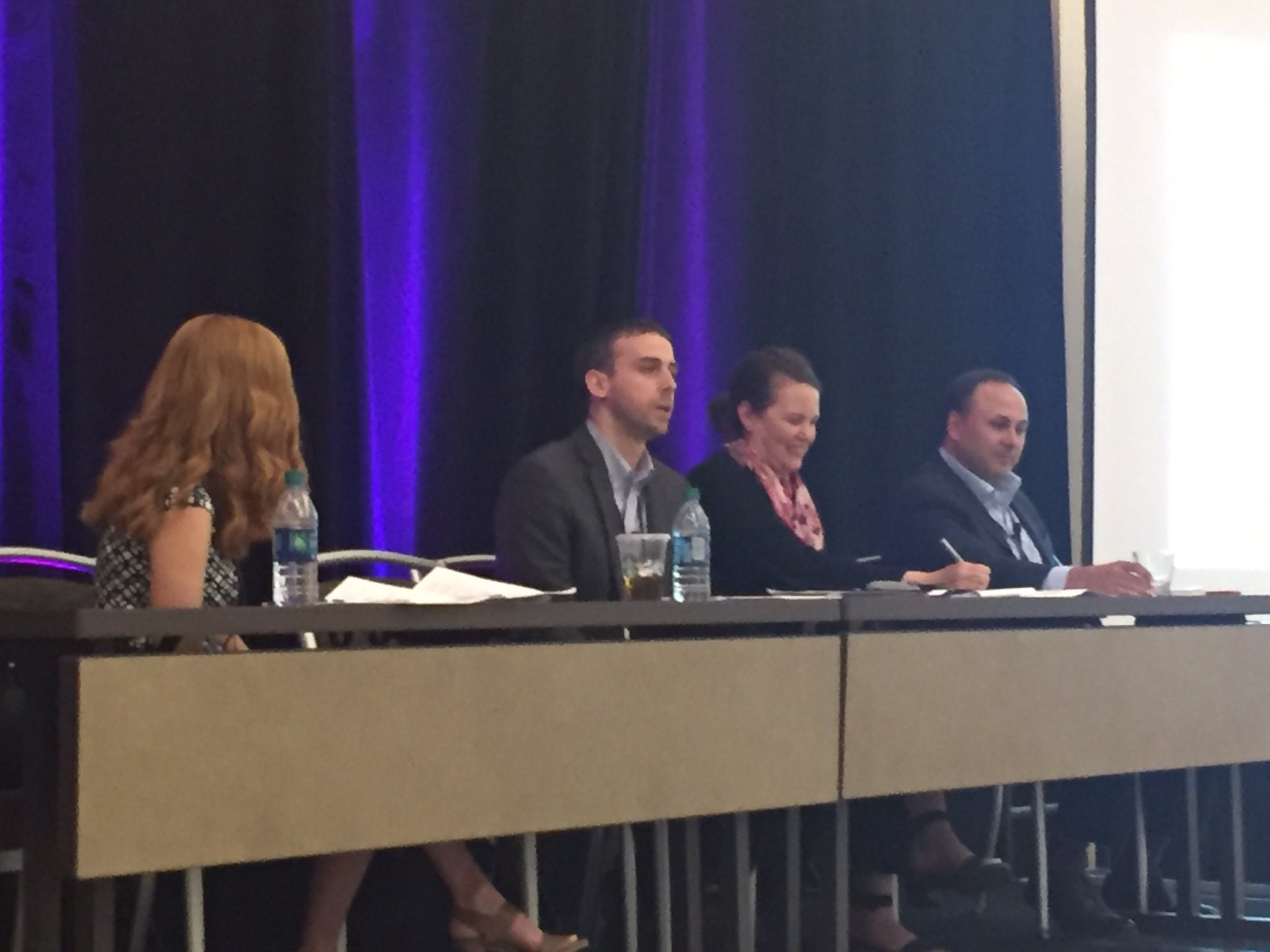 Kathleen Rapp discusses @IowaWestFdn partnering with @CBCommSchools to offer a summer camp enrichment program for 750 Ss. #CBatAAC #GLRWeek https://t.co/JR9T3Ey8jQ