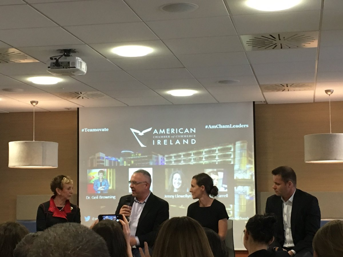 Pleasure to be part of the discussion panel tonight. Thank you @amchamkatie and @amchamirl #teamovate #amchamleaders<br>http://pic.twitter.com/7aSlt59J6H