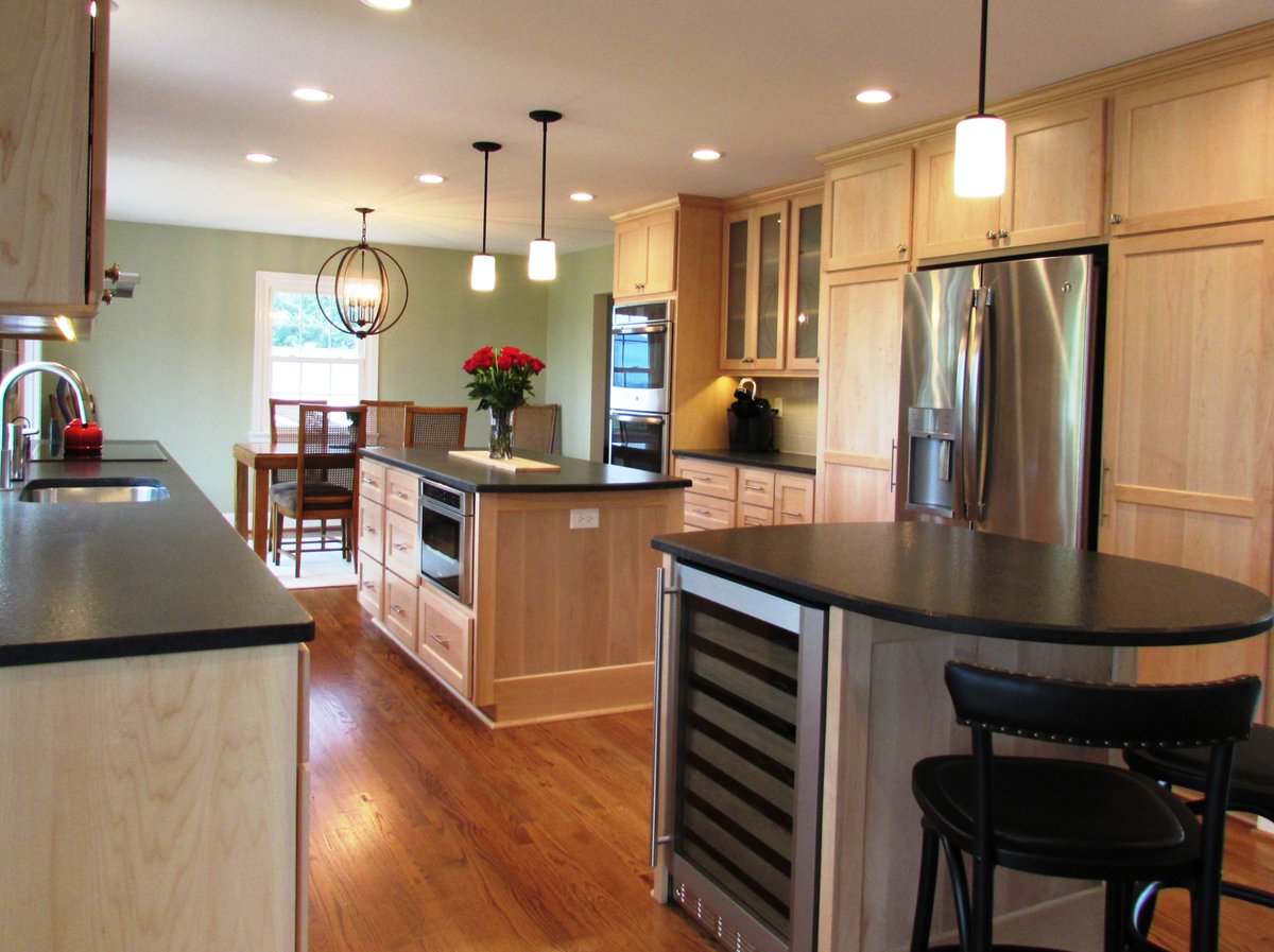 Talon Construction Design Build Remodel Company On Twitter Jefferson Md Kitchen Renovation With Two Islands Kitchenremodeling