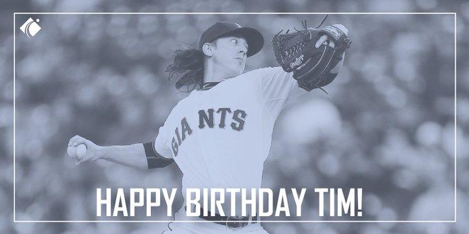 Happy Birthday Tim Lincecum!