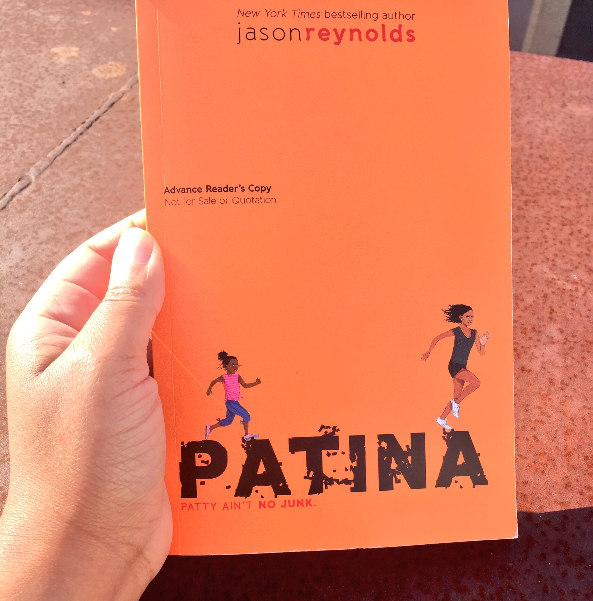 After hearing @JasonReynolds83 speak at the #ReadingMatters conference 🙌🏾 we can't wait to read his new book PATINA! https://t.co/89euhG7l1T