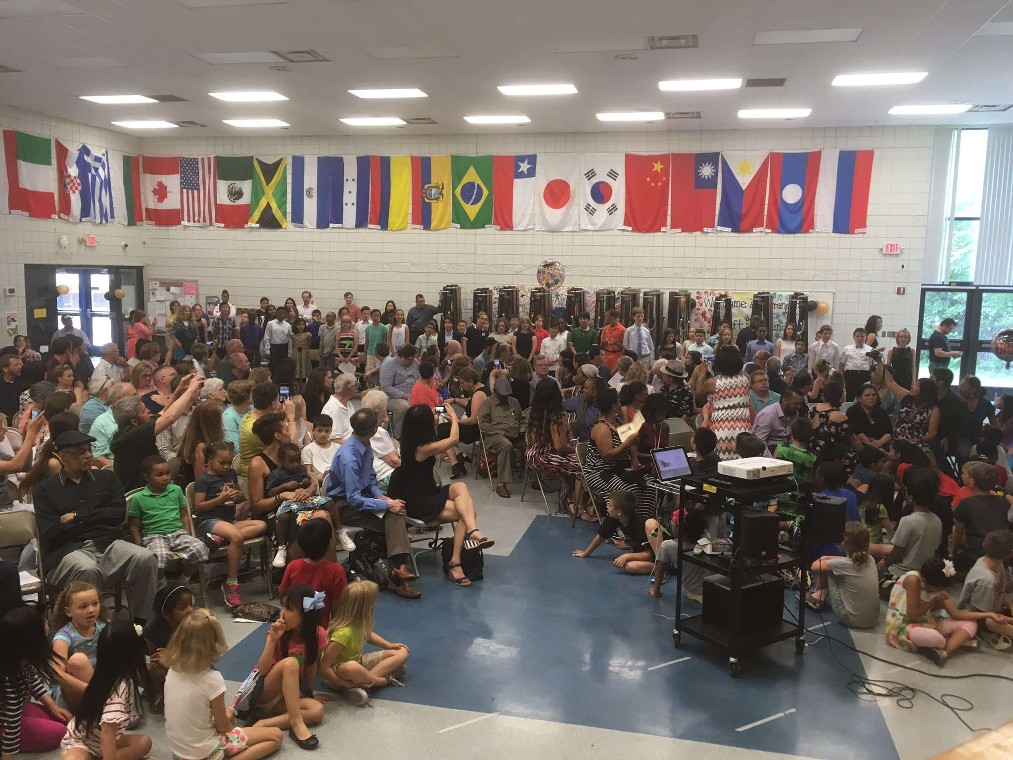 Congratulations to our fifth grade graduates, their families, and thank you to our amazing speakers! #A2Logan #A2gether @A2schools https://t.co/K4Ddt8fKxb