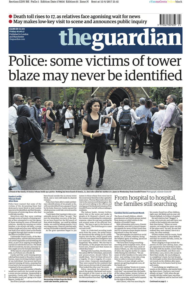 Theresa May orders public inquiry into Grenfell fire as ...