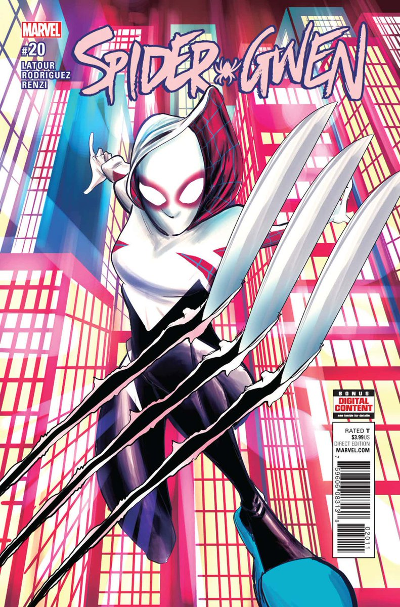 SPIDER-GWEN #20 ¡Ya disponible!    http:// azcomicses.blogspot.com/2017/01/spider -gwen-vol2.html &nbsp; …   #AzComicsEs #Up #MarvelNow #Gwen #SpiderManHomecoming <br>http://pic.twitter.com/SzeBC9CXfW