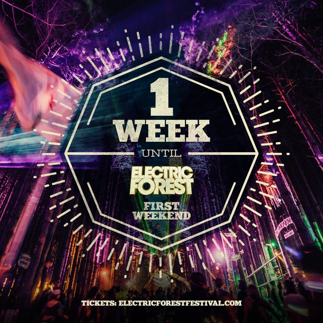 1 week! ⚡️