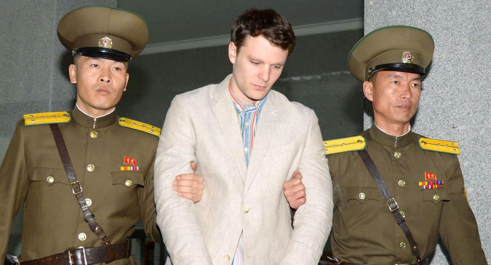 米学生、北朝鮮で1年間以上逮捕後、昏睡状態まま帰国 https://t.co/iHYNFrys96 #北朝鮮 #ワームビア #米国 #昏睡状態